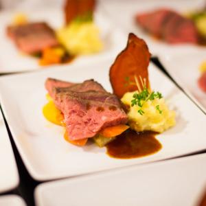 Gehobene Küche für Gourmets